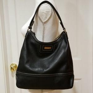 Kate Spade NY Leather Shoulder Bag Black